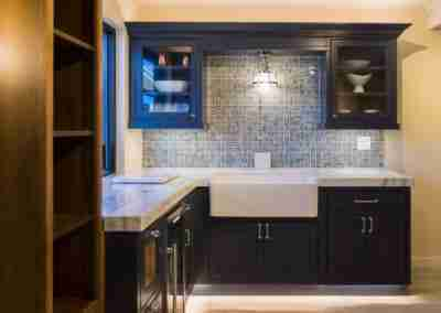 AGS Stone Kitchen Cabinet Dark