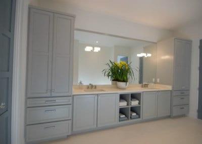 Kabinart All Wood Cabinetry In Bathroom 6