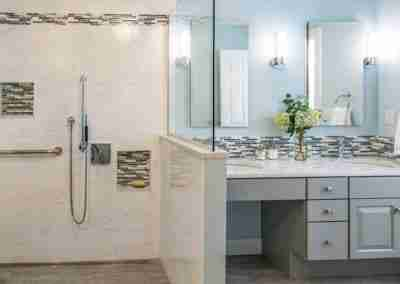 Showplace Cabinetry in bathroom