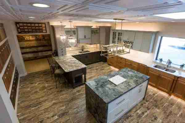 Renovated kitchen with granite countertops done at a low cost
